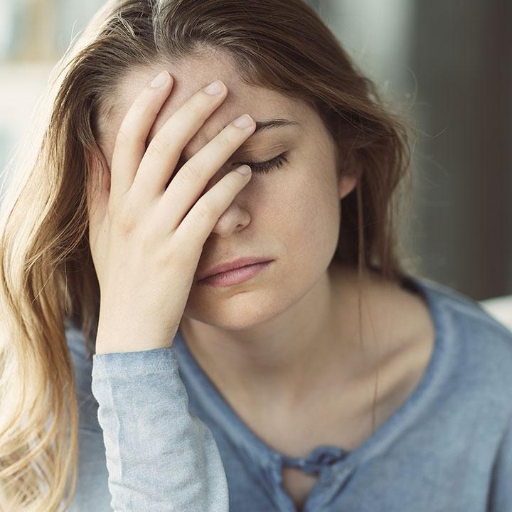 様々なストレスがQOLを低下させる